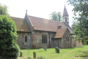 Billington, St Michael and All Angels. View from the north-east.
