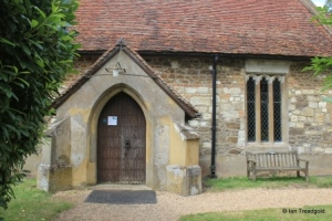 Billington, St Michael and All Angels. South porch.
