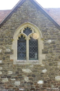 Billington, St Michael and All Angels. Vestry window.