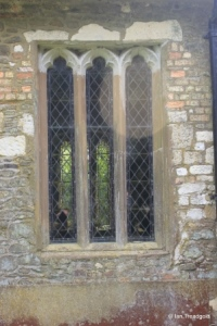 Billington, St Michael and All Angels. South wall window.