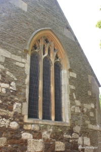 Billington, St Michael and All Angels. East window.