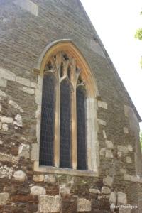 Billington, St Michael and All Angels. East window.