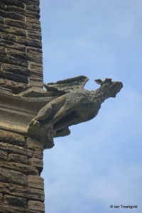Steppingley - St Lawrence. Tower gargoyle.