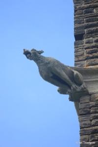 Steppingley - St Lawrence. Tower gargoyle.