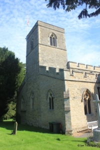 Stevington - St Mary. Tower.