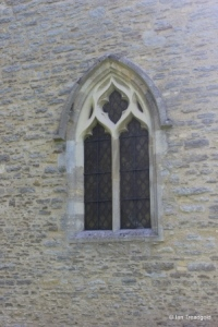 Stevington - St Mary. South aisle, west window.