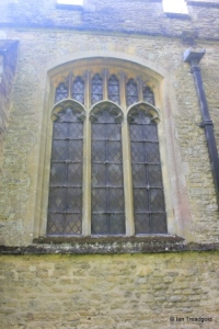 Stevington - St Mary. North aisle, central window.