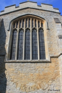 Stevington - St Mary. Eastern window.