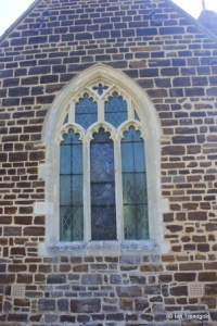 Stondon - All Saints. West window.