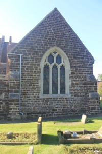 Stondon - All Saints. North transept, north window.