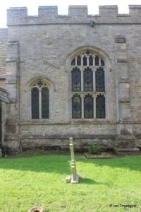 Bolnhurst - St Dunstan. North wall windows.