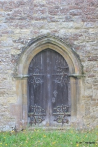 Bletsoe - St Mary the Virgin. North doorway.