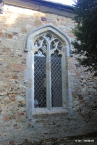 Streatley - St Margaret. South aisle, south-east window.