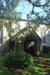 Streatley - St Margaret. South porch.