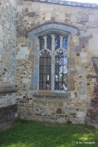 Streatley - St Margaret. South aisle, west window.