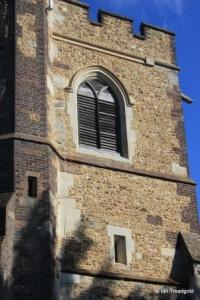 Streatley - St Margaret. Belfry openings.