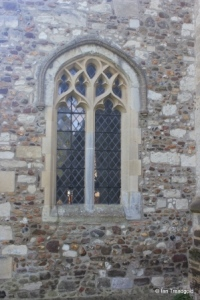 Streatley - St Margaret. North aisle west window.