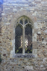 Streatley - St Margaret. North aisle north-west window.