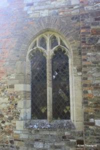 Streatley - St Margaret. North aisle north-east window.