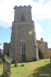 Carlton - St Mary the Virgin. Tower from the west.