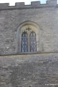 Carlton - St Mary the Virgin. Belfry west window.