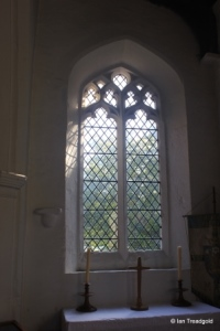 Streatley - St Margaret. South aisle, east window internal.