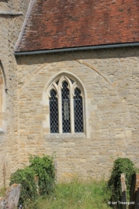 Carlton - St Mary the Virgin. Chancel, south window.