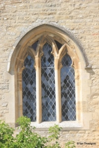 Carlton - St Mary the Virgin. South aisle window.