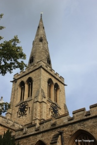 Bedford - St Paul. Steeple.