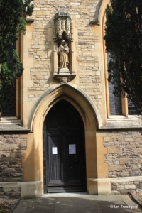 Bedford - St Paul. South doorway.