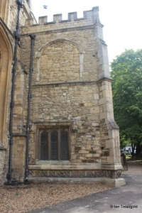 Bedford - St Paul. South porch from the west.