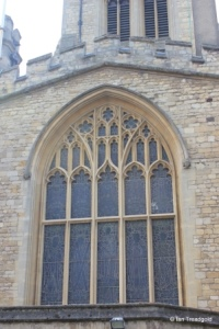 Bedford - St Paul. North transept window.