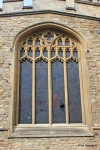 Bedford St Paul. South chapel, east window.