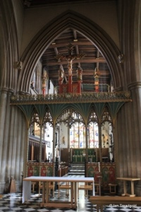 Bedford - St Paul. Rood screen.