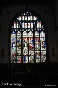 Bedford - St Paul. East window internal.
