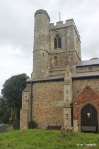 Sundon - St Mary. Tower from the south.