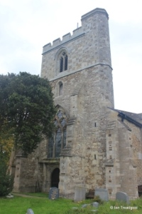 Sundon - St Mary. Tower from the south-west.