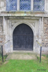 Sundon - St Mary. West door.