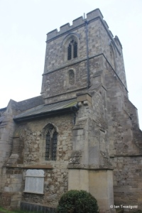 Sundon - St Mary. Tower from the north-west.