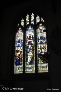 Bedford - St Paul. Stained glass.