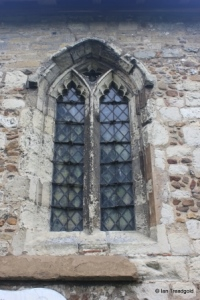 Sundon - St Mary. North aisle, western window.