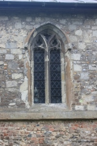 Sundon - St Mary. North aisle, centre window.