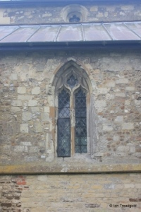 Sundon - St Mary. North aisle, eastern window.
