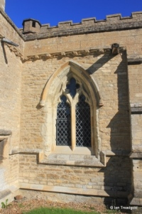 Swineshead - St Nicholas. South aisle, central window.