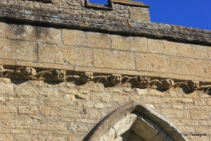 Swineshead - St Nicholas. Parapet frieze.