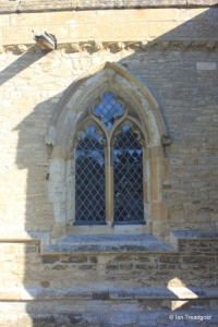 Swineshead - St Nicholas. South aisle, south-west window.