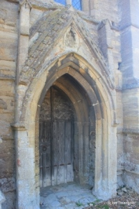 Swineshead - St Nicholas. West door.