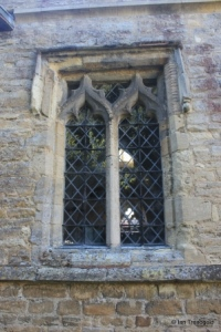 Swineshead - St Nicholas. North aisle, north-west window.