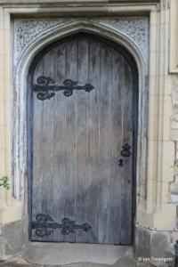 Bedford - St John the Baptist. West doorway.