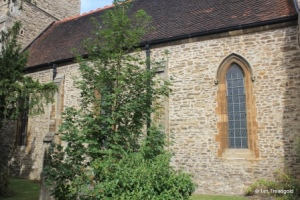 Bedford - St John the Baptist. Chancel south side.